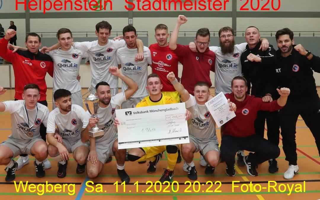 Hallenfußballstadtmeister 2020